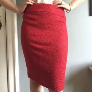 Anthro Moulinette Soeurs Firefight Pencil Skirt